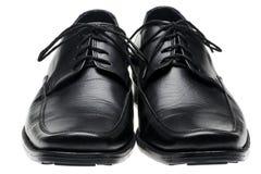παπούτσια ζευγαριού s μαύρ Στοκ Φωτογραφία