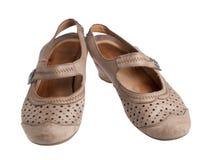 Παπούτσια ηλικιωμένων γυναικών ` s Στοκ φωτογραφίες με δικαίωμα ελεύθερης χρήσης