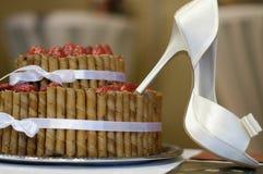 παπούτσια κέικ στοκ εικόνες με δικαίωμα ελεύθερης χρήσης