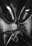 Παπούτσια και άρωμα ατόμων Στοκ Εικόνα
