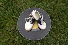 Παπούτσια και αρχείο σελών Στοκ εικόνα με δικαίωμα ελεύθερης χρήσης