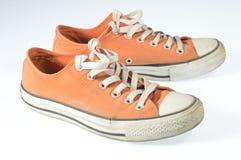 Παπούτσια καμβά Στοκ φωτογραφίες με δικαίωμα ελεύθερης χρήσης
