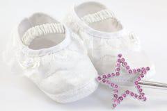 Παπούτσια κοριτσάκι Στοκ φωτογραφίες με δικαίωμα ελεύθερης χρήσης