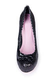 Παπούτσια μαύρων γυναικών Στοκ εικόνες με δικαίωμα ελεύθερης χρήσης