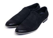 Παπούτσια μαύρων που απομονώνονται στο λευκό στοκ εικόνες