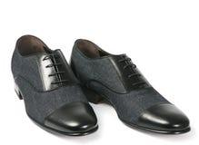 παπούτσια μαύρων Στοκ εικόνες με δικαίωμα ελεύθερης χρήσης