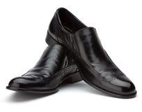 παπούτσια μαύρων s Στοκ Φωτογραφίες