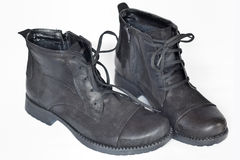 παπούτσια μαύρων s Στοκ φωτογραφίες με δικαίωμα ελεύθερης χρήσης
