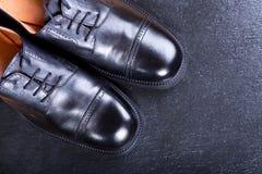 παπούτσια μαύρων s Στοκ Φωτογραφία