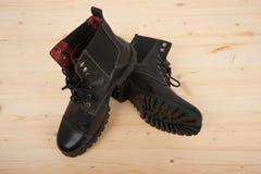 παπούτσια μαύρων s Στοκ εικόνες με δικαίωμα ελεύθερης χρήσης