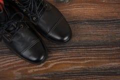 Παπούτσια μαύρων ` s Στοκ φωτογραφία με δικαίωμα ελεύθερης χρήσης