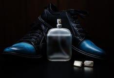Παπούτσια με τη μανσέτα και το άρωμα Στοκ εικόνες με δικαίωμα ελεύθερης χρήσης