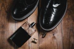 Παπούτσια με το άρωμα και τη μανσέτα Στοκ φωτογραφίες με δικαίωμα ελεύθερης χρήσης