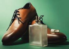 Παπούτσια με το άρωμα και τη μανσέτα Στοκ Φωτογραφίες
