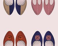 Παπούτσια μόδας Στοκ εικόνα με δικαίωμα ελεύθερης χρήσης
