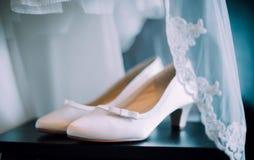 Παπούτσια νυφών Στοκ Φωτογραφία