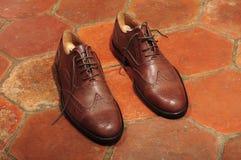 Παπούτσια ξοντρών παπούτσεων Στοκ Εικόνες
