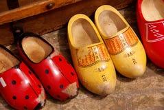 παπούτσια ξύλινα Στοκ Εικόνα