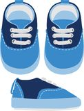 Παπούτσια παιδιών r στοκ εικόνες