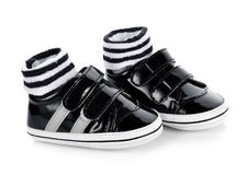 Παπούτσια παιδιών ` s Στοκ Φωτογραφίες