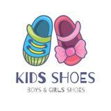 Παπούτσια παιδιών ελεύθερη απεικόνιση δικαιώματος