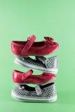 Παπούτσια παιδιών Στοκ Εικόνα