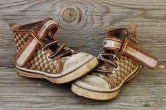 Παπούτσια παιδιών ` s Στοκ εικόνες με δικαίωμα ελεύθερης χρήσης