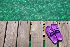 Παπούτσια παραλιών Στοκ εικόνα με δικαίωμα ελεύθερης χρήσης