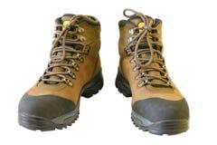 παπούτσια πεζοπορίας Στοκ Εικόνες