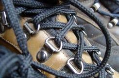 παπούτσια πεζοπορίας στοκ εικόνα
