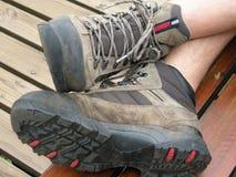 παπούτσια πεζοπορίας Στοκ εικόνες με δικαίωμα ελεύθερης χρήσης