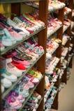 παπούτσια ραφιών Στοκ Εικόνες