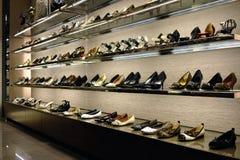 παπούτσια ραφιών Στοκ Φωτογραφία