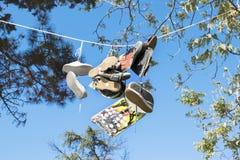 Παπούτσια σαλαχιών Στοκ εικόνες με δικαίωμα ελεύθερης χρήσης