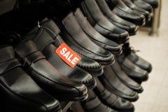 Παπούτσια στην πώληση Στοκ εικόνα με δικαίωμα ελεύθερης χρήσης