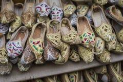Παπούτσια στο αραβικό ύφος, αγορά του Ντουμπάι Στοκ φωτογραφίες με δικαίωμα ελεύθερης χρήσης