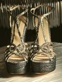 παπούτσια της Ιταλίας μόδας armani Στοκ Φωτογραφίες