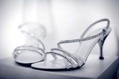 Παπούτσια της νύφης Στοκ Φωτογραφία