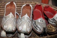 Παπούτσια της παραδοσιακής Ινδονησίας Στοκ Φωτογραφία