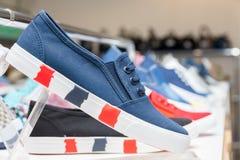 Παπούτσια το κατάστημα Στοκ Φωτογραφίες