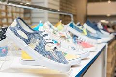 Παπούτσια το κατάστημα Στοκ φωτογραφίες με δικαίωμα ελεύθερης χρήσης