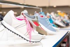 Παπούτσια το κατάστημα Στοκ φωτογραφία με δικαίωμα ελεύθερης χρήσης