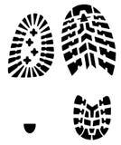 παπούτσια τυπωμένων υλών Στοκ φωτογραφίες με δικαίωμα ελεύθερης χρήσης