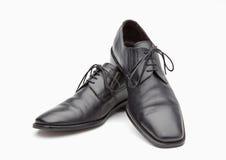 Παπούτσια των μαύρων ατόμων δέρματος Στοκ φωτογραφία με δικαίωμα ελεύθερης χρήσης