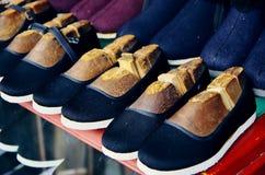 Παπούτσια υφασμάτων Στοκ φωτογραφία με δικαίωμα ελεύθερης χρήσης