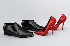 παπούτσια Στοκ εικόνες με δικαίωμα ελεύθερης χρήσης