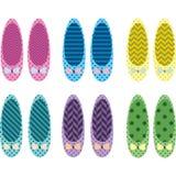 Παπούτσια ClipArt Στοκ Εικόνες