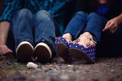 Παπούτσια Couple's Στοκ Φωτογραφία