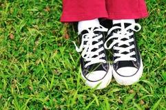 Παπούτσια Plimsolls Στοκ Φωτογραφία