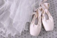 Παπούτσια Pointe Στοκ Εικόνες